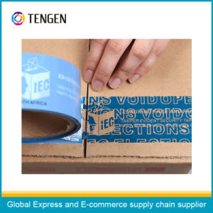 Half Transfer Adhesive Anti-Fake Packing Tape pictures & photos