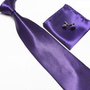 Polyester Satin Necktie Set Neckt09