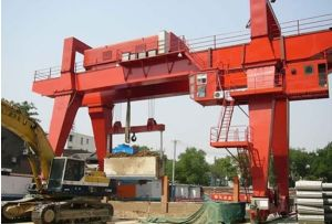 80ton Double Girder Gantry Crane pictures & photos