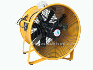 Orange 16 Inch Portable Axial Ventilation Fans 220V pictures & photos