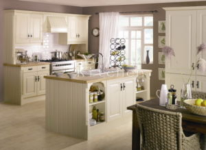 Solid Wood Kitchen Cabinet #272 pictures & photos