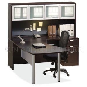 Dark Coffee High Quality Manager Desk with Filing Cabinet (SZ-OD355) pictures & photos
