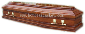 Wooden Coffin for The Russian Funeral (HT-0811)