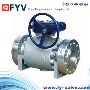 Forged Steel Trunnion Mounted Ball Valves pictures & photos