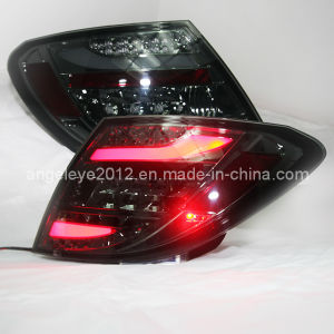 W204 C200 LED Tail Light for Mercedes-Benz Black Color