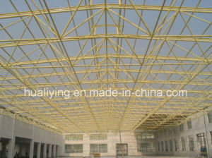 Space Grid Structures Roofing of Workshop in Guangzhou with Large Span pictures & photos