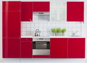 Baked Paint Kitchen Cabinet (M-L78) pictures & photos