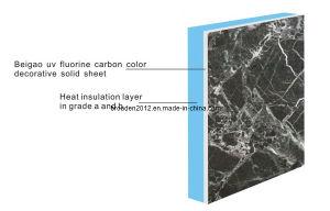 UV Fluorocarbon Decorative Fiber Cement Board with Heat Insulation