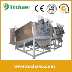 Techase Screw Press, Lower Power Consumption Than a Plate-and-Frame Dehydrator pictures & photos