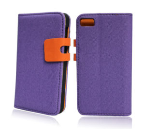 High-Quality Leather Flip Phone Wallet Cover for iPhone6 pictures & photos