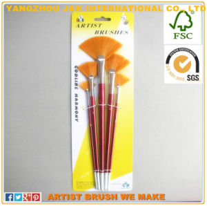 5PCS Fine Artist Nylon Oil Painting Brush