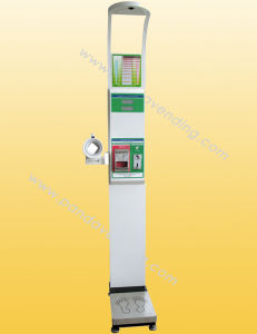 Coin-Operated Height and Weighing Machine with Blood Pressure Meter (TR-BS800) pictures & photos