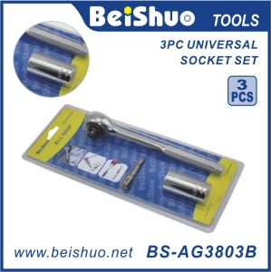 7-19mm Grip Universal Socket Wrench with Handle pictures & photos