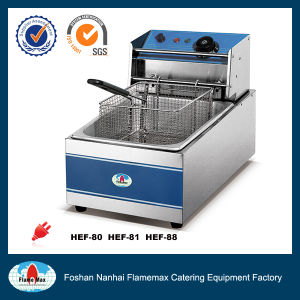 1-Tank 1-Basket Electric Fryer (HEF-81)