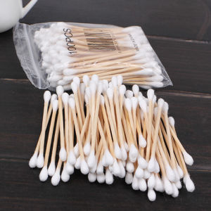 Wooden Stick Cotton Swabs Buds with Ce ISO pictures & photos