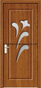 Dubai Latest Design PVC Interior Wooden Doors (EI-P125) pictures & photos