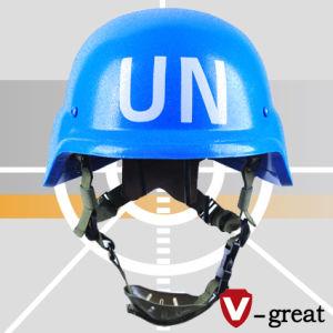 Un Blue Pasgt Bulletproof Helmet pictures & photos