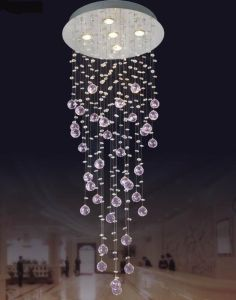 Crystal Glass Ceiling Lamp (6840--5) pictures & photos