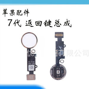 Mobile Home Button Flex Cable for iPhone7 pictures & photos