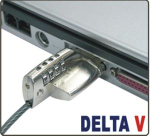 Laptop Lock and Video Port Security Lock Delta5