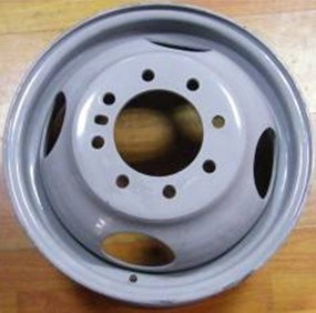 Dual Steel Wheels for Light Truck or Flat Trailer pictures & photos