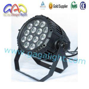 RGBWA DMX LED PAR 64 Light pictures & photos