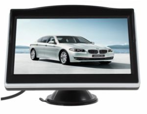 5inch Standalone Digital Car LCD Monitor with Sunshade pictures & photos