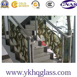 Handrail Digital Printing Painted Glass pictures & photos