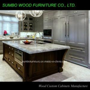 2015 New Design Mix Color Kitchen Cabinet (SBK-004)