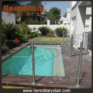 Swimming Pool Glass Railing (SJ-3206)