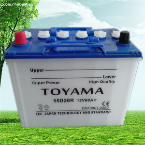 12V60ah Dry Charged Car Batteries DIN pictures & photos