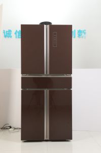 486lit Luxury Design 5 Doors American Side by Side Refrigerator
