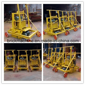 Manual Concrete Block Machinery Portable Concrete Block Making Machine Qmr2-45 pictures & photos