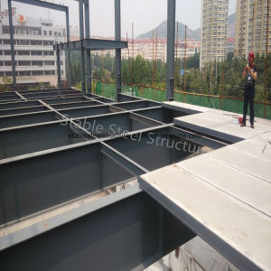 Modular Two Storey Steel Structure Office Building with Short Construction Time pictures & photos