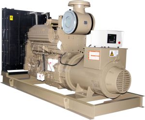 Cummins Disel-Natural Gas Dual-Fuel Generator Set 300kw (MC340DF)