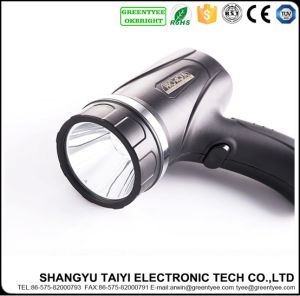 3.7V Rechargeable Camping CREE LED Handheld Spotlight pictures & photos
