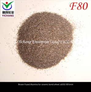 Brown Aluminum Oxide #80 for Abrasive Polishing pictures & photos