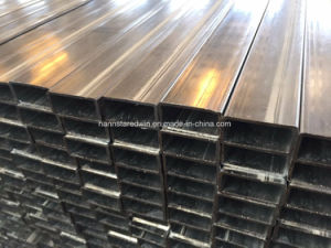 Building Mataerial Steel Pipe Galvanized Round Pipe Square Steel Pipe pictures & photos