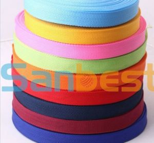 Colorful Polyester Webbing for Garments pictures & photos