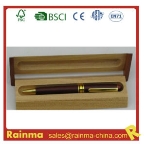 Metal Wooden Ball Pen in Wooden Gift Box644 pictures & photos