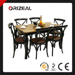 Antique Solid Wood Dining Sets (OZ-TE-005) pictures & photos