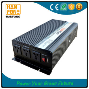 3000W 12V 220V Home Battery Solar Inverter DC to AC Yemen pictures & photos