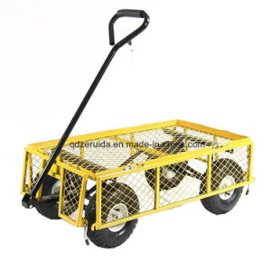 Load Capacity 300kgs Mesh Garden Cart (TC4206) pictures & photos
