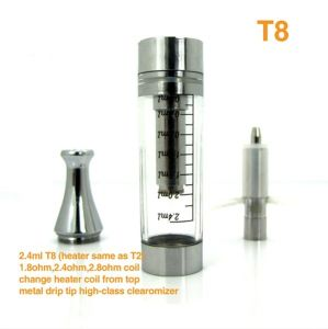 Hottest E Cigarette EGO T with Clearomiser T8