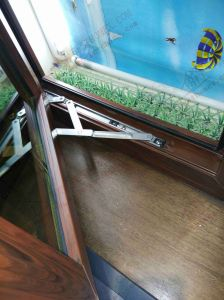 Soundproof PVC Casement Window with Top Fanlight (BHP-CWP23) pictures & photos
