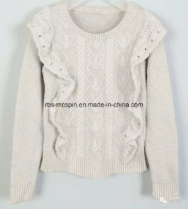 Kids Knitted Sweater for Girls pictures & photos