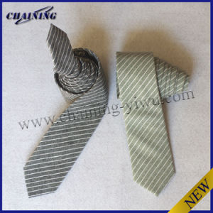 Men′s High Quality Cotton and Linen Woven Tie (MMT-3973)