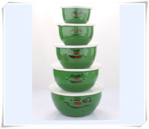 Enamel Lunch Box Food Storage Container pictures & photos