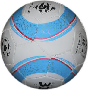 2014 New Design Machine Stitched Soccer Ball pictures & photos