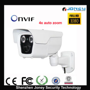 2MP 4X Auto Zoom Onvif IP Camera with H. 264 Stream Encoding pictures & photos